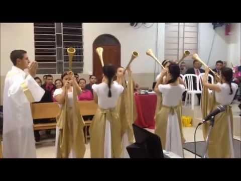 Ministério de Coreografia Ágape Sete trombetas Lauriete