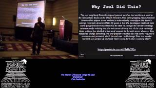 t117 The Internet Of Insecure Things 10 Most Wanted List Paul Asadoorian