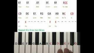 Jai ho song on Keyboard Part 1