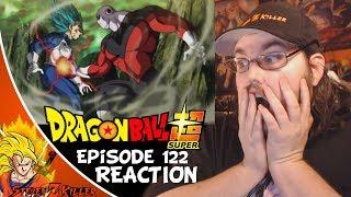 Dragon Ball Super Episode 122 HD English Subbed (Vegeta with his Pride! vs JIREN!!!) REACTION!!!