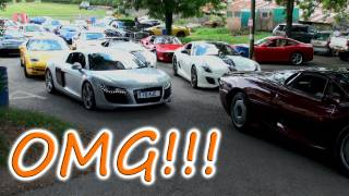 The Most Ridiculous Supercar Traffic Jam