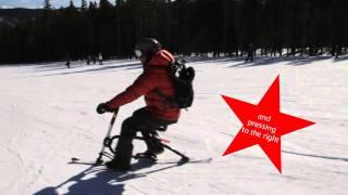 SkiBike how to ride