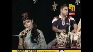 Amar Bondhu Doyamoy | Radha Romon - Saida Tania Live in Bangla TV