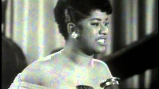 RUTH BROWN.  Mama, He Treats Your Daughter Mean.  Live 1954 R&B Performance.