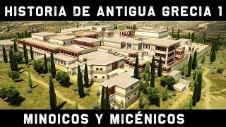 ANTIGUA GRECIA 1: Minoicos y Micénicos. El laberinto del Minotauro y la Guerra de Troya