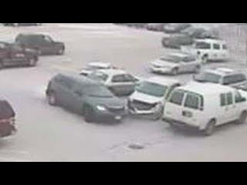 World's worst driver:Old man crashes into 9 cars; Woman parks in handicapped spot - Compilation
