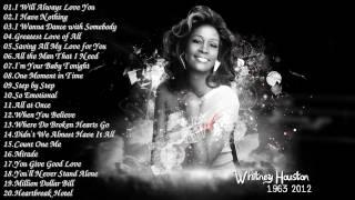 Best Songs Of Whitney Houston    Whitney Houston Greatest Hits Full Album 2017