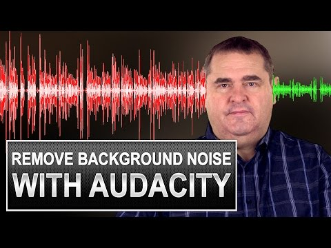 Background Noise Reduction With Audacity - How To Use Audacity The Free Voice Recording Software