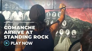 The Comanche Nation arrive at Standing Rock -  8/20/16 -  Native Daily Network