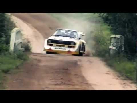 INSANE Audi Quattro Sport S1 1000 Lakes Group B Rally Pure Engine Sound