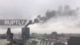 Germany: Huge fire breaks out at Berlin's Europa-Center building