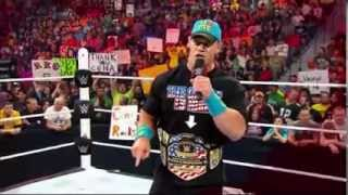Check out the  I Quit  Match between John Cena and Rusev, Tonight at WWE Payback   YouTube