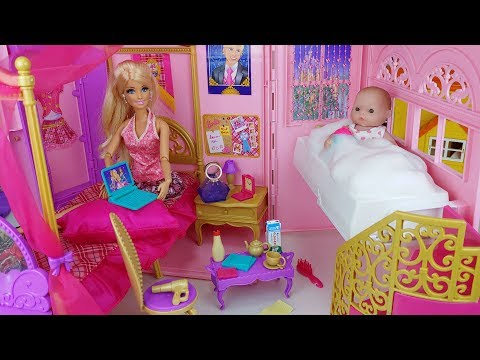 Xxx Mp4 Baby Doll And Barbie Bag House Toys Baby Sitter Kitchen Play 토이몽 3gp Sex