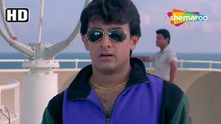 Aamir Khan flirts & follow Manisha Koirala - Best Scenes from Mann - Romantic Movie