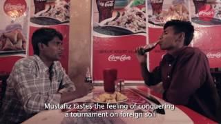 Mustafiz is in Coca-Cola advertisement