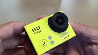 Unboxing CCbetter CS810W Wifi 12mp 1080p Sports Action Camera HD Waterproof Video DVR