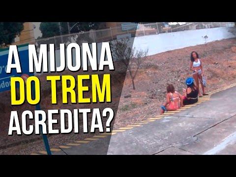 NECOMOVEL TÁ FODA + MIJONA NO TREM