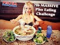 7lb Pho Eating Challenge   Pho Ha #7 in Riverside   RainaisCrazy   Oliver and Pearl's Engagement
