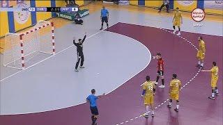 مباراة الريان القطري - الغرافة القطري - نهائي بطولة الخليج لكرة اليد 2017