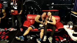 Rich Piana 5% at 2017 LA Fit Expo after being sucker punched by Mac Trucc crew