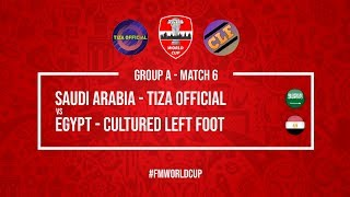 Saudi Arabia vs Egypt   Tiza Official vs Cultured Left Foot   Football Manager 2018   #FMWorldCup