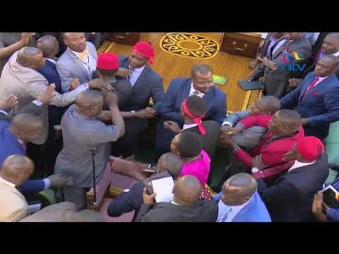 Xxx Mp4 Uganda MPs Fight In Parliament During Presidential Age Limit 3gp Sex
