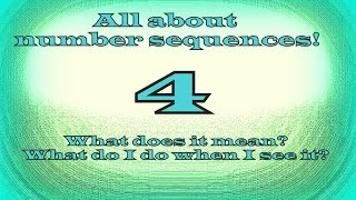 Seeing 444 what does it mean? NUMBER SEQUENCES PART 6