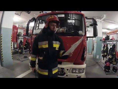 Strażak sam w Szkole SGSP K 15