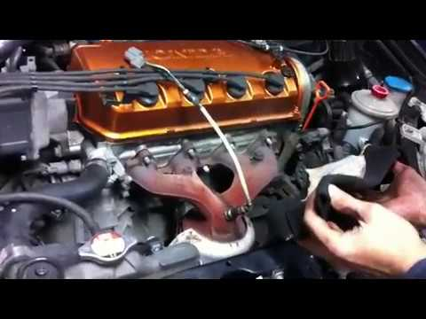 How to replace 99-00 Civic stock into aftermarket HEADERS