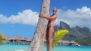 Heidi Klum wieder oben ohne - Splash News Deutschland