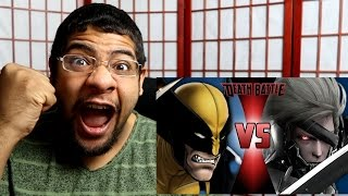 THESE GUYS ARE SAVAGE!! Wolverine VS Raiden | DEATH BATTLE! REACTION
