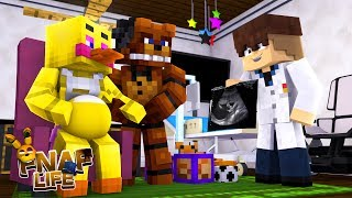 Minecraft FNAF LIFE!! - CHICA IS PREGNANT WITH FREDDY'S BABY - IS IT A BOY OR A GIRL??