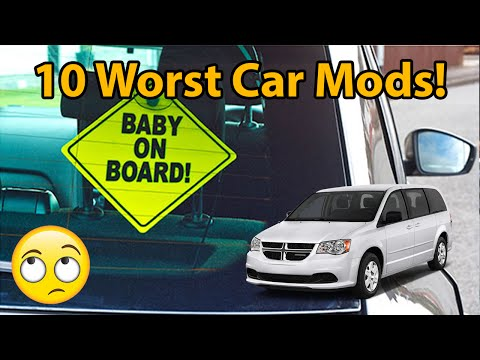 10 Worst Car Mods!!