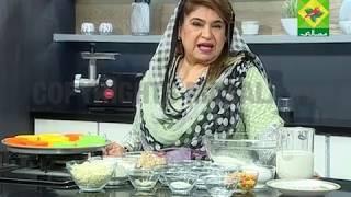 Panasonic Quality Kitchen [Masala TV] Chicken Cheese Muffins & Pomegranate Smoothie Recipe