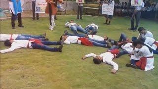 No Tobbaco Day Nukkad Drama comedy natak in hindi India Health