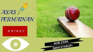 Asas Permainan Kriket #MYKIF #MyKomunitiKreatif