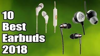 TOP 10: Best Earbuds 2018