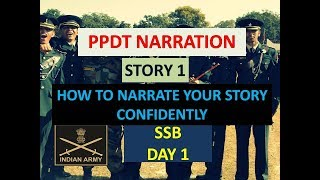 SSB PPDT NARRATION II HOW TO NARRATE YOUR STORY CONFIDENTLY