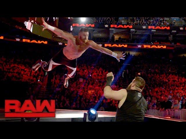 Sami Zayn vs. Kevin Owens - No Disqualification Match: Raw, March 27, 2017