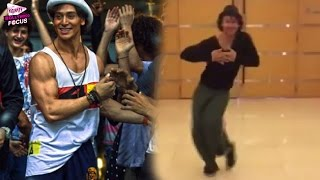Watch: Tiger Shroff's 'dancing' tribute to Hrithik Roshan!
