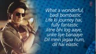 Chennai Express Title Song With Full Lyrics