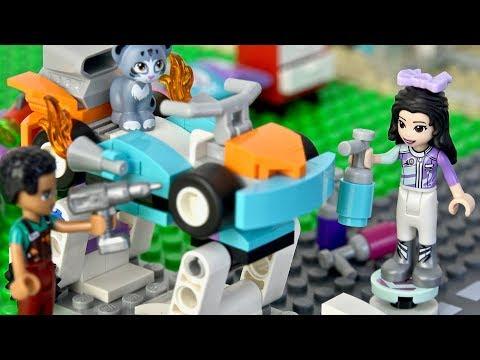 レゴ フレンズ 41351 ハートレイクグランプリ デコレーションショップ LEGO Friends Creative Tuning Shop