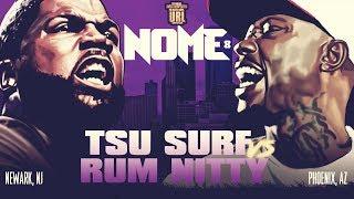 TSU SURF VS RUM NITTY SMACK/ URL RAP BATTLE  URLTV
