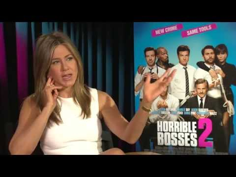 Horrible Bosses 2 Jennifer Aniston Exclusive Interview