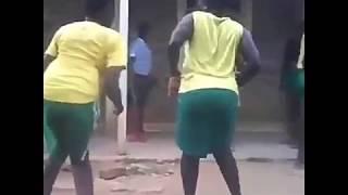 wanafunzi wakikatika mauno