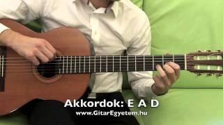 Alap akkordok 1 - www.GitarEgyetem.hu