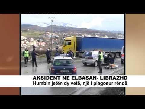 AKSIDENT NE ELBASAN LIBRAZHD ABCNEWS 24 JANAR
