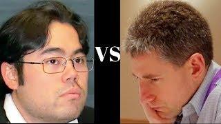 Amazing Chess Game: Hikaru Nakamura vs Michael Adams - London Classic 2011: King's Gambit