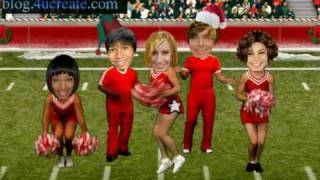 high school musical 3 (Efron Tisdale Montez...) new year christmas (sendholidaycheer)