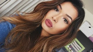Get Ready With Me: Natural Glam Makeup Look | ItsMandarin